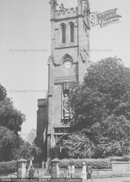 Photo of Banbury, St John's Church c.1955