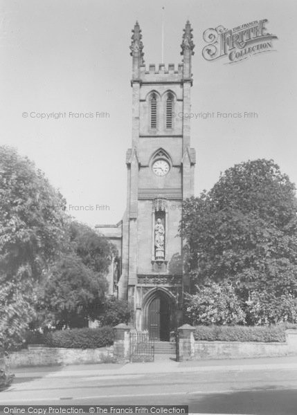 Photo of Banbury, St John's Church, South Bar c.1955