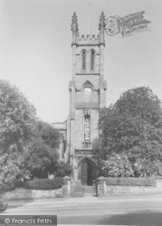 Banbury, St John's Church, South Bar c.1955