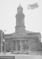 Banbury, St Mary's Church c.1955