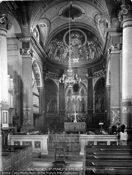 Banbury, St Mary's Church Choir 1921