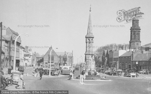 Photo of Banbury, The Cross And Horse Fair c.1955