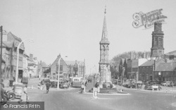 Banbury, The Cross And Horse Fair c.1955