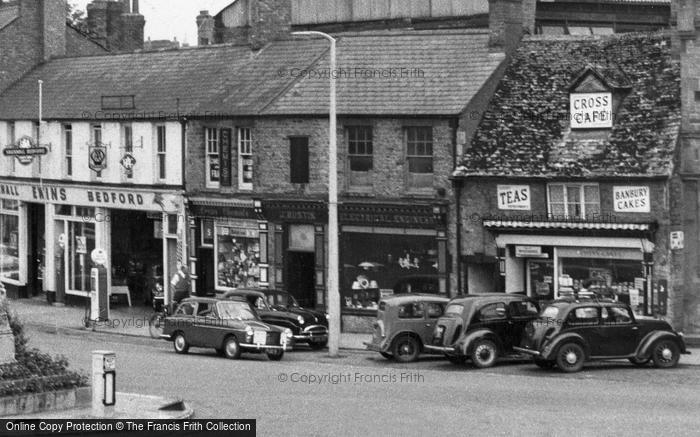 Photo of Banbury, The Cross Cafe c.1960