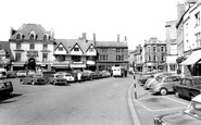Banbury, The Market Place c.1965