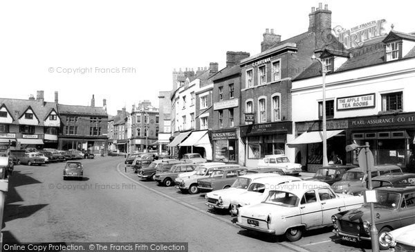 Photo of Banbury, The Market Place c.1965