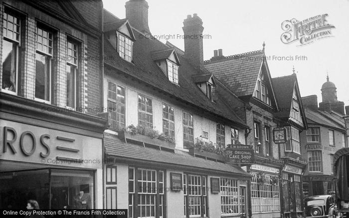 Photo of Banbury, The Original Cake Shop c.1955