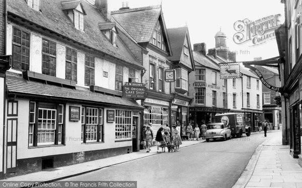 Photo of Banbury, The Original Cake Shop c.1960