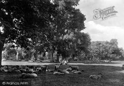 Banbury, The Park 1922