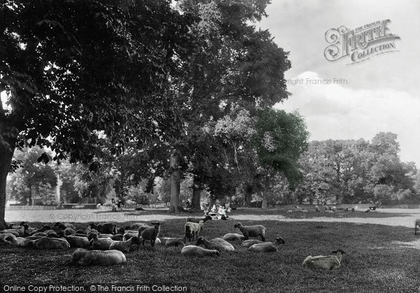 Photo of Banbury, The Park 1922