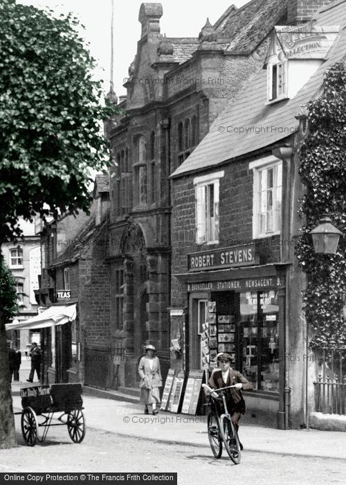 Photo of Banbury, the Poor Law Offices 1921, ref. 70582Bp