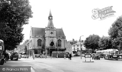 Banbury, The Town Hall c.1960