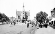 Banbury, Town Hall 1921