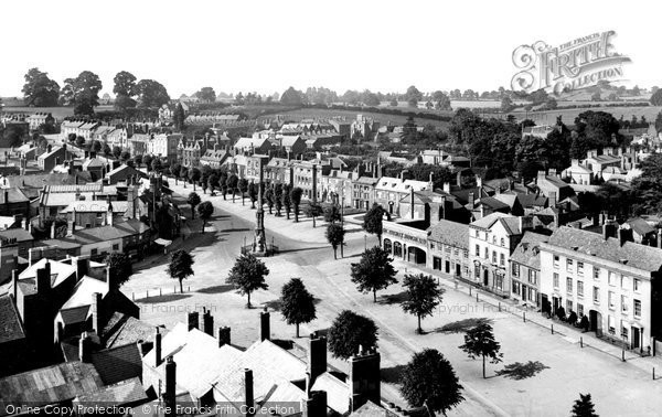 Photo of Banbury, View From Church Tower 1921