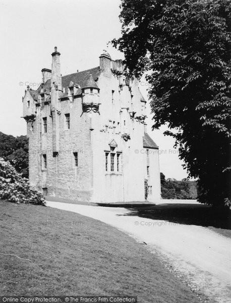 Banchory, Crathes Castle 1949