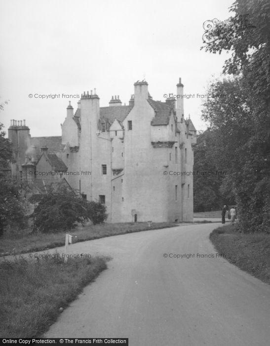 Photo of Banchory, Crathes Castle 1956