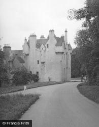 Banchory, Crathes Castle 1956