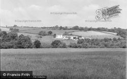 Bancyfelin, Borthay Farm 1957