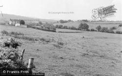Bancyfelin, General View 1957