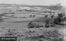 Bancyfelin, General View 1957
