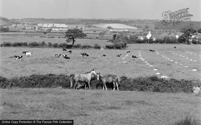 Photo of Bancyfelin, General View 1957