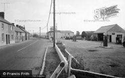 Bancyfelin, The Main Road 1957
