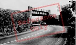 The Railway Bridge c.1955, Bancyfelin