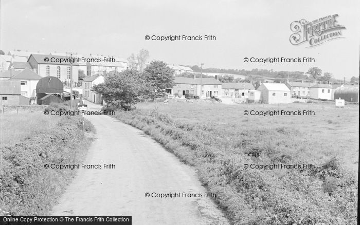 Photo of Bancyfelin, Village 1957