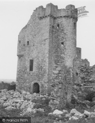 Banff, Inchdrewer Castle 1961