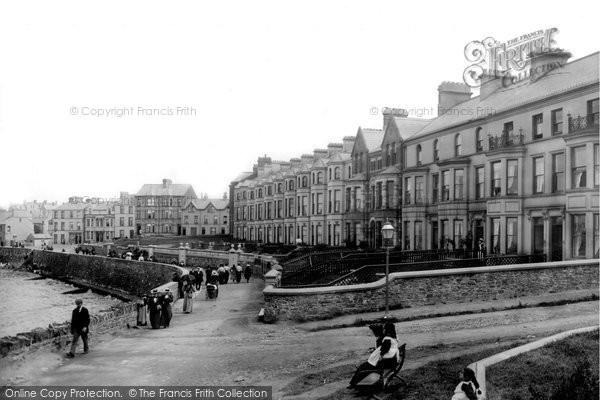 Photo of Bangor, Bowman's Terrace 1897