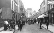Bangor, Busy High Street 1908