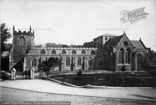 Photo of Bangor, Cathedral 1890