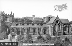 Bangor, Cathedral And University c.1950