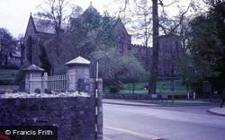 Cathedral From Gwynedd Road Car Park c.1980, Bangor