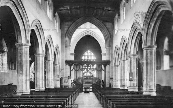 Photo of Bangor, Cathedral Interior 1911