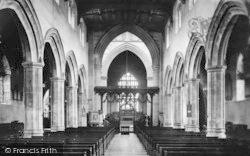 Bangor, Cathedral Interior 1911