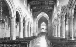 Bangor, Cathedral, Nave East 1890