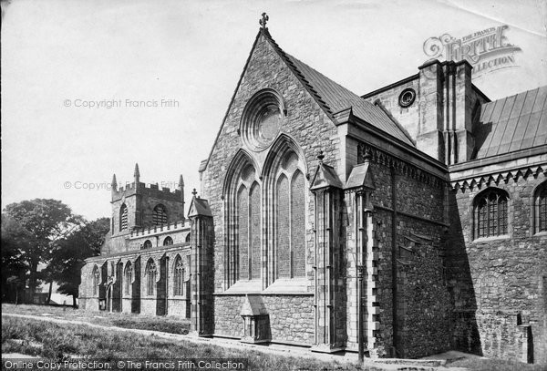 Bangor, Cathedral South East 1890