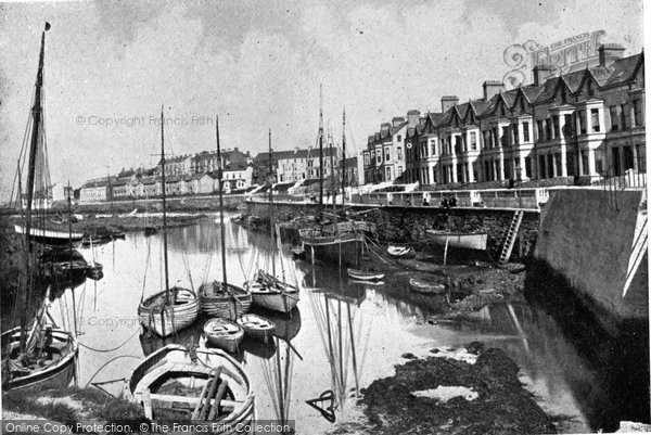 Photo of Bangor, Clifton Terrace c.1900