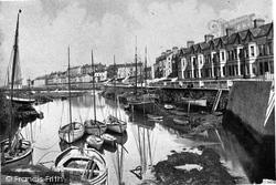 Bangor, Clifton Terrace c.1900