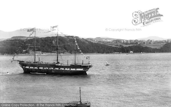 Photo of Bangor, Clio Training Ship 1894