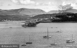Bangor, From Anglesey c.1965
