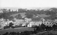 Bangor, From Recreation Ground 1890