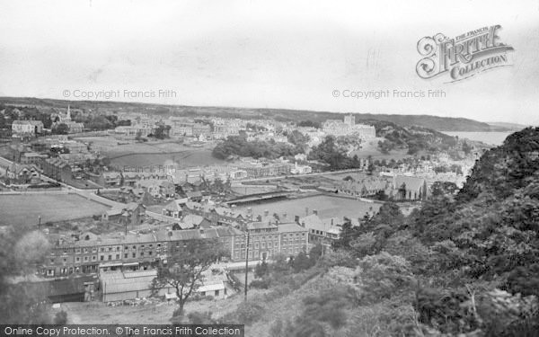 Photo of Bangor, From The Maes 1930