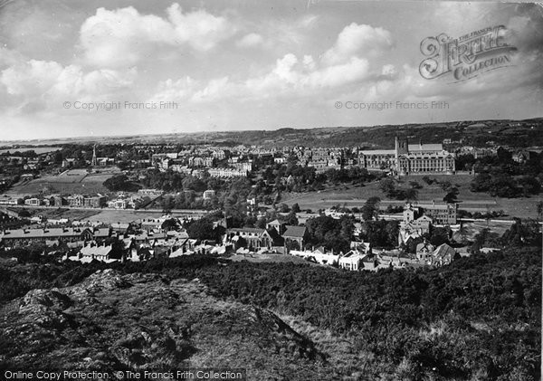 Photo of Bangor, From The Mountain 1930