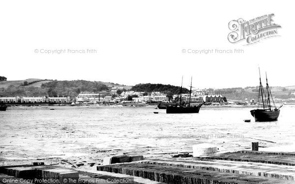 Photo of Bangor, Garth From Ferry 1890