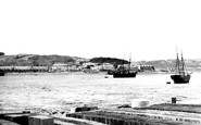 Bangor, Garth from Ferry 1890
