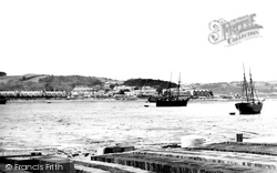 Bangor, Garth From Ferry 1890