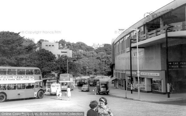 Photo of Bangor, Garth Road c.1965