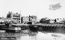 Bangor, Grand Hotel From The Old Pier 1897